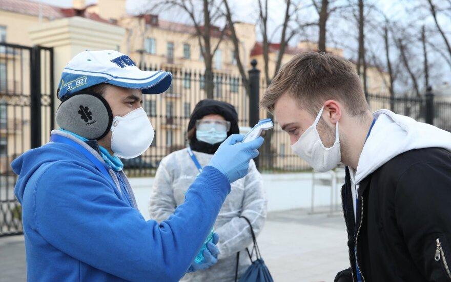 Baltarusijoje mirus dar trims COVID-19 pacientams protrūkio aukų padaugėjo iki 19