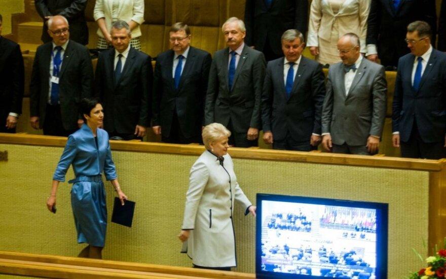D. Grybauskaitė: esame pasiruošę