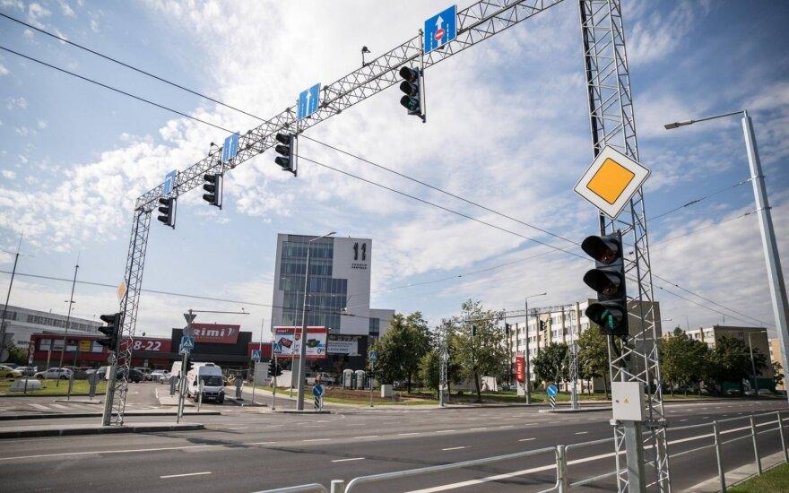 Vilniuje planuojama rekonstruoti Kareivių gatvę: diegs naujus šviesoforus