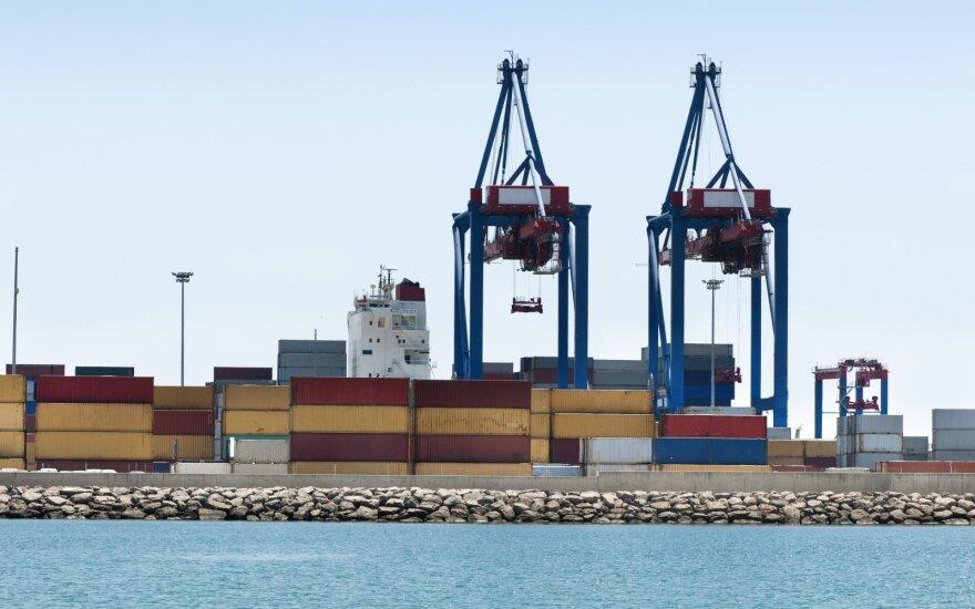 Jūra gabenami konteineriai