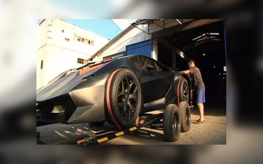 Lamborghini iš Kirgizijos