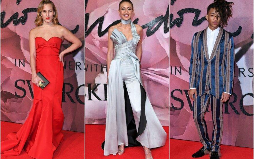 """Mados garsenybės išsidalino """"British Fashion Awards"""" apdovanojimus"""