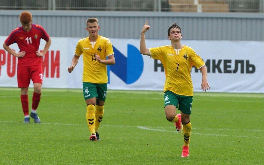 Lietuvos U-19 vaikinų futbolo rinktinė / Foto: granatkin.com
