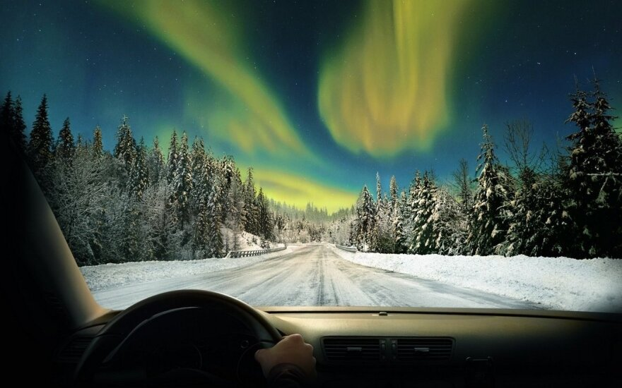 Atmintinė vairuotojams: kokias padangas rinktis žiemą keliaujant Europoje
