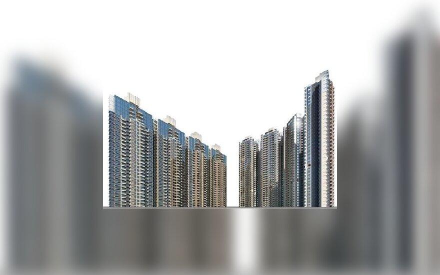 Honkongo statybų bendrovė per savaitgalį pardavė 900 butų