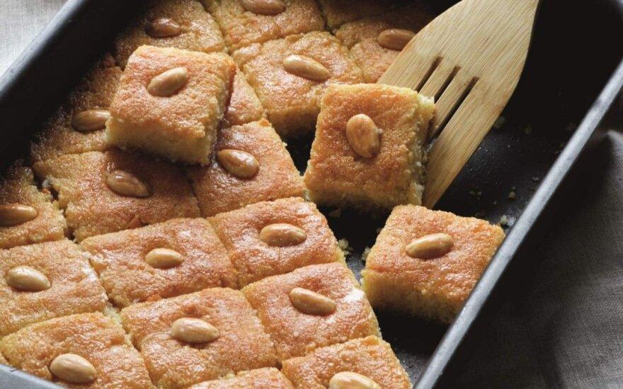 Pyragų dieną nustebinkite visus arabišku manų pyragu