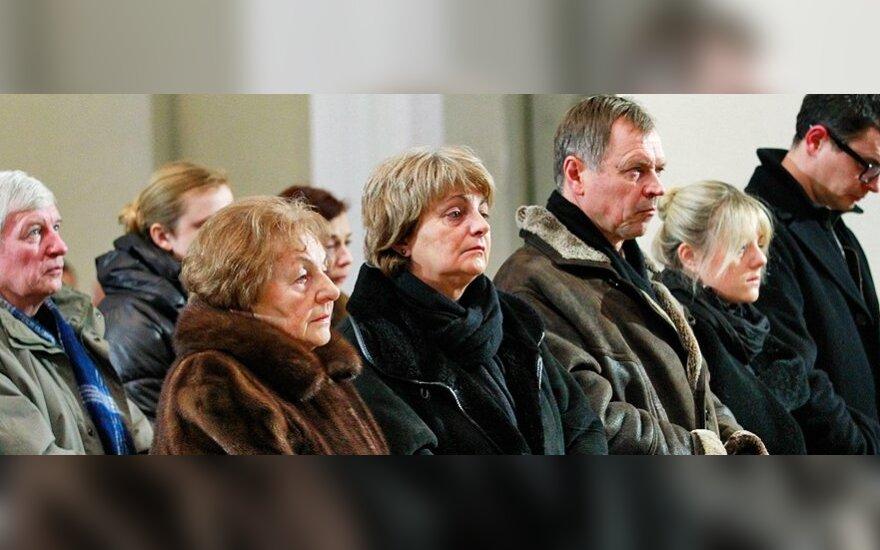Justino Marcinkevičiaus šeima