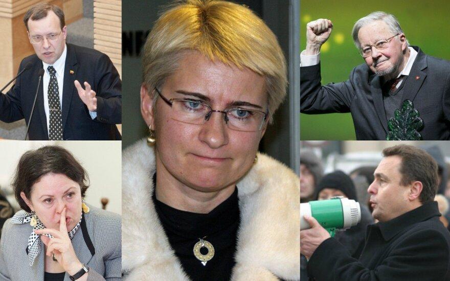 Naglis Puteikis, Aurelija Stancikienė, Neringa Venckienė, Vytautas Landsbergis, Petras Gražulis