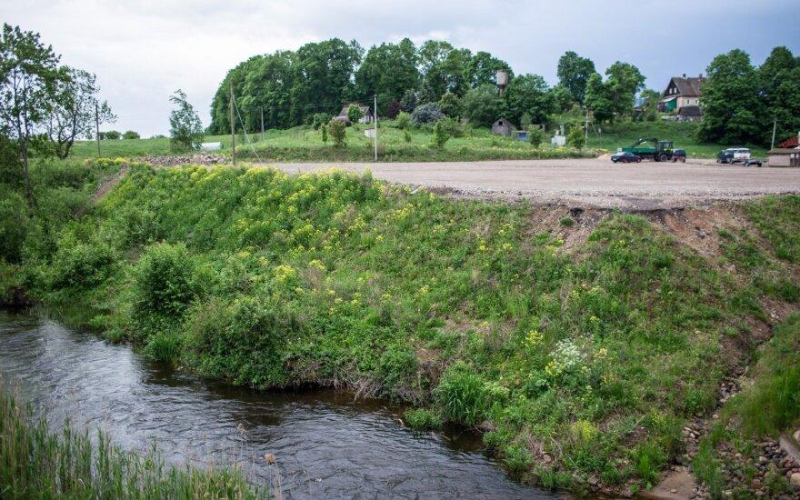 Upelis skiriantis Lietuvą ir Latviją