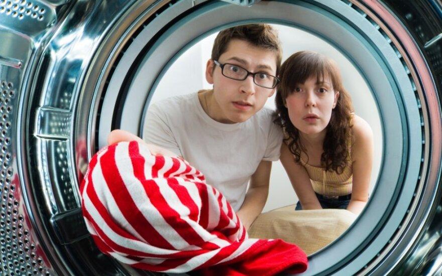 Atšilus orams padaugėjo klientų skalbyklose