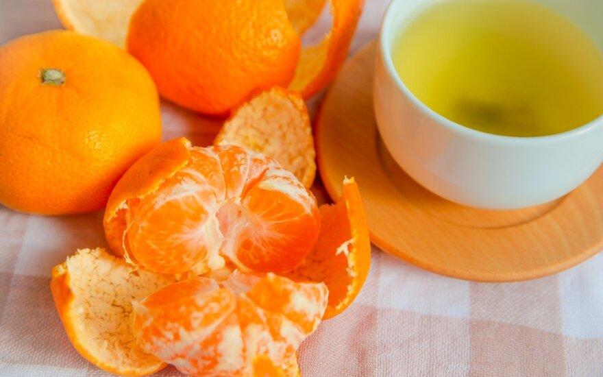 Mandarinų arbata
