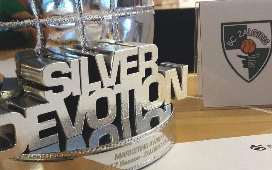 Eurolygos apdovanojimas
