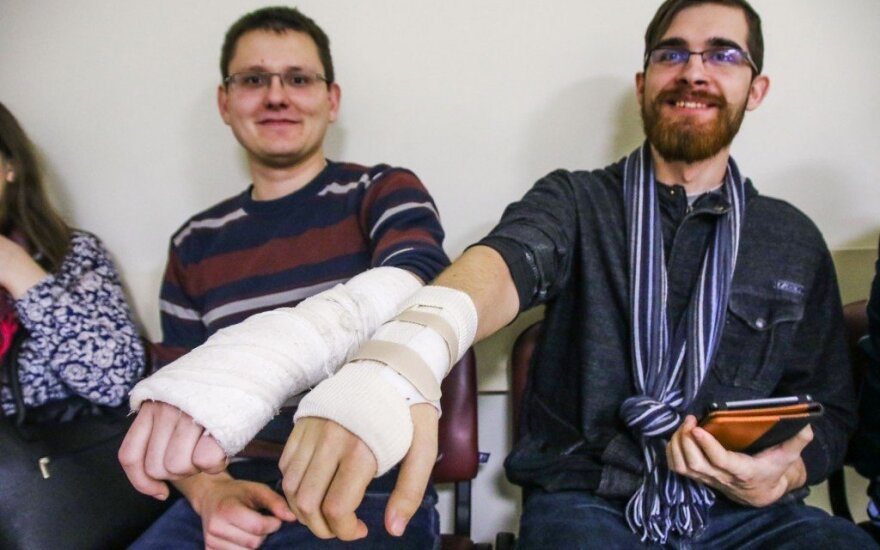 Pasipylė kauniečių traumos: vietų ligoninėje nebeliko