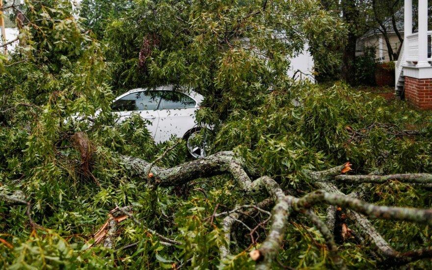 Negailestingas klimatologo perspėjimas: turėsime priprasti prie didžiulių audrų ir liūčių