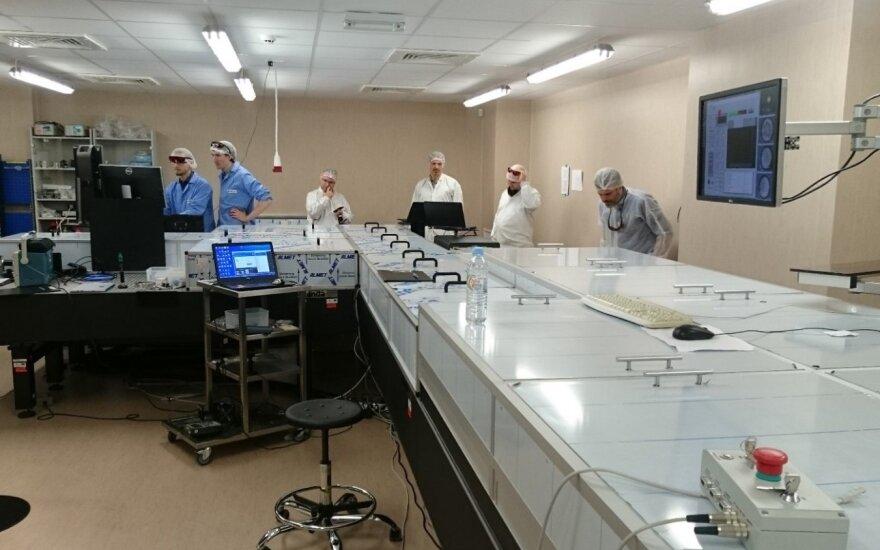 Darbas su SYLOS lazerių sistema