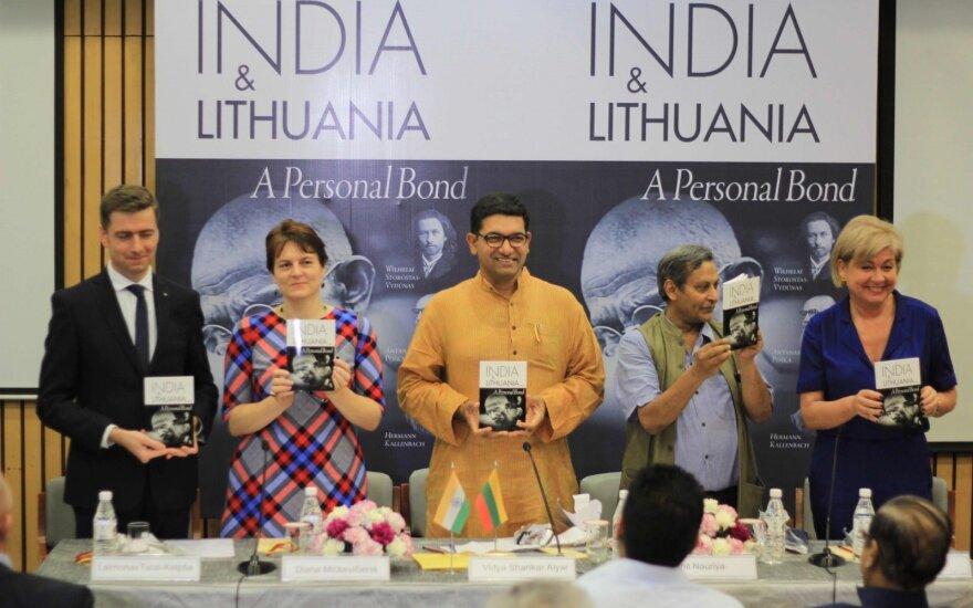 Delyje paminėtas Lietuvos ir Indijos diplomatinių santykių sidabrinis jubiliejus