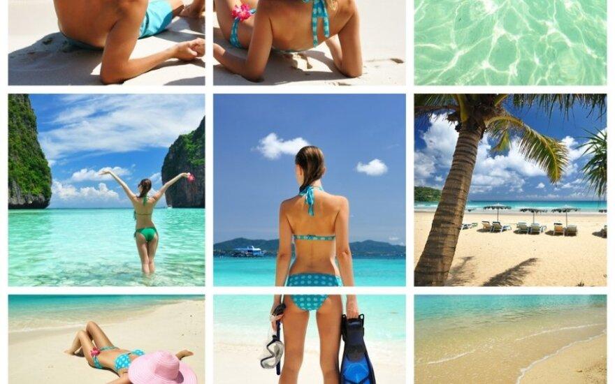 """Nuotraukų konkursas """"Mano ypatinga vasaros akimirka"""": laimėkite kosmetikos rinkinius!"""