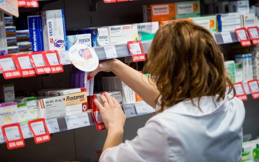 Nuo kitų metų liepos dalis gyventojų vaistus gaus nemokamai
