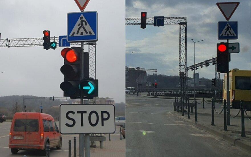 Žalios rodyklės Kaune