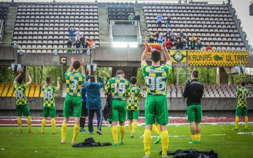 """FBK """"Kaunas"""" futbolininkai (B. Dragūno nuotr.)"""
