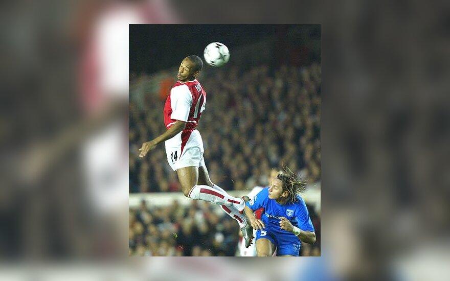 "Thierry Henry, Londono ""Arsenal"""