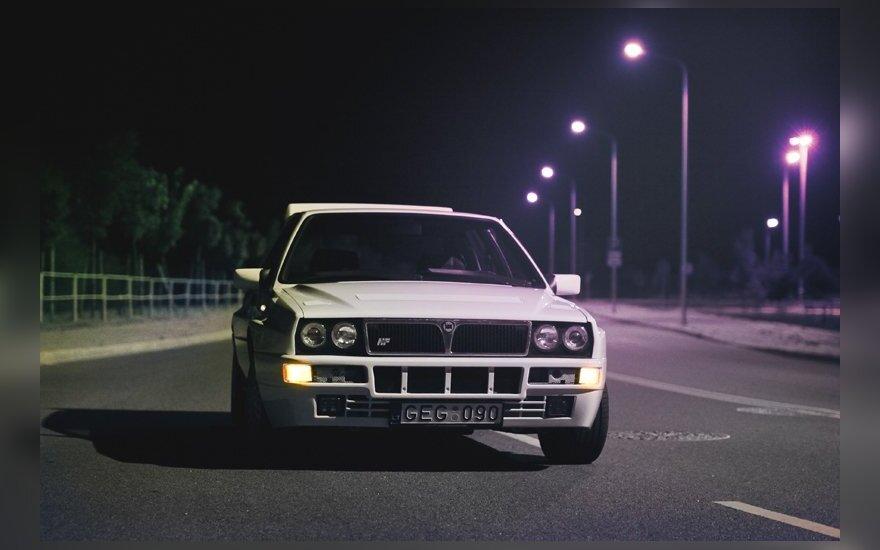 Lancia Delta HF Integrale. T.Tunylos nuotr.