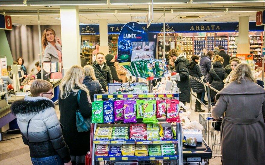Slapti pirkėjai apsipirko prekybos centruose: kur pigiausia mėsa, pieno ar grūdiniai produktai