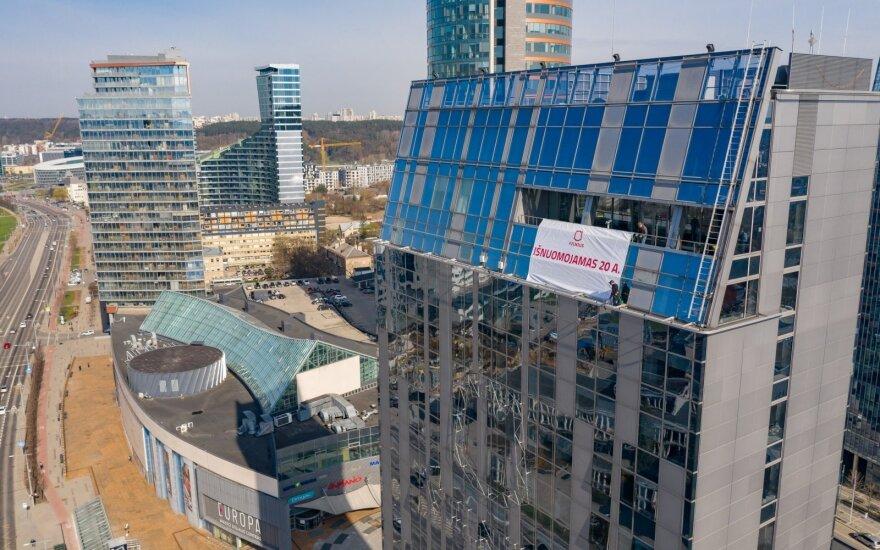 Vilniaus savivaldybės pastato 20 aukštas