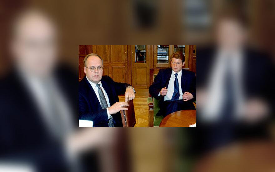 Antanas Klimavičius ir Rolandas Paksas