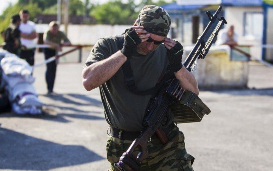 Kol Ukrainos pajėgų dėmesys nukreiptas į Slovjanską, teroristai nesnaudžia