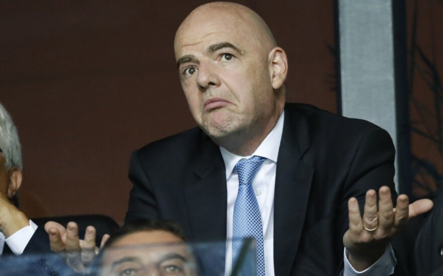 FIFA prezidentas Gianni Infantino