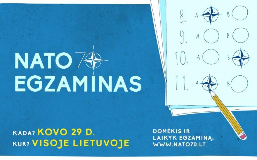 Pirmą kartą rengiamas NATO egzaminas kviečia pasitikrinti žinias ir aplankyti NATO būstinę Briuselyje