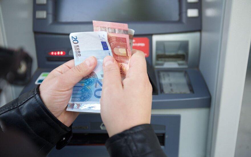 "Nebeliks ""Danske Bank"" bankomatų"