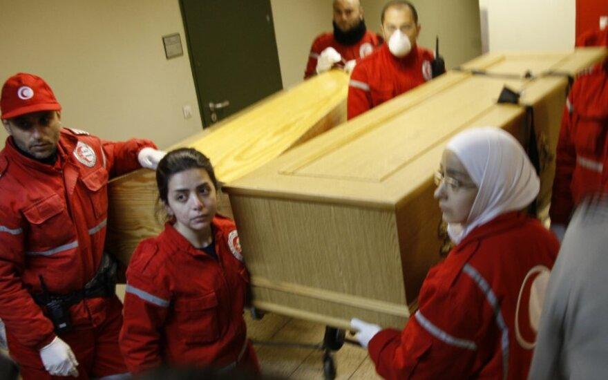 Išlydimi Sirijoje žuvusių žurnalistų palaikai