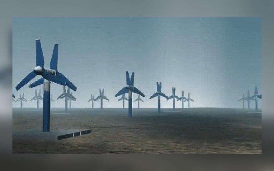 """Povandeninių turbinų parko vizualizacija / """"Atlantis Resources Corporation"""" vizualizacijos stopkadras"""