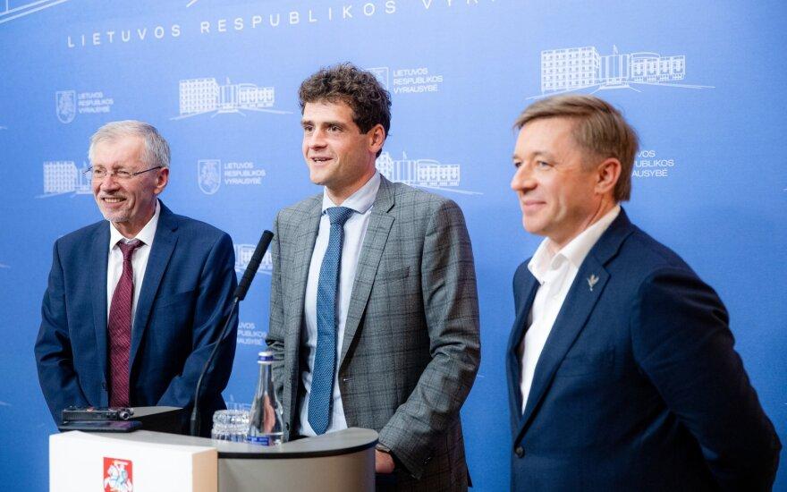 Gediminas Kirkilas, Remigijus Žemaitaitis, Ramūnas Karbauskis