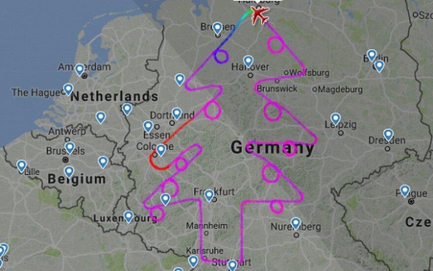 Kalėdų eglė virš Vokietijos