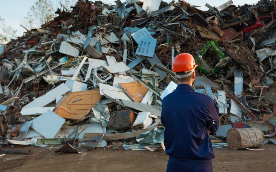 Metalo supirkinėtojai tokių kainų nebuvo matę nuo 2009-ųjų: gyventojai nešė viską, ką galėjo