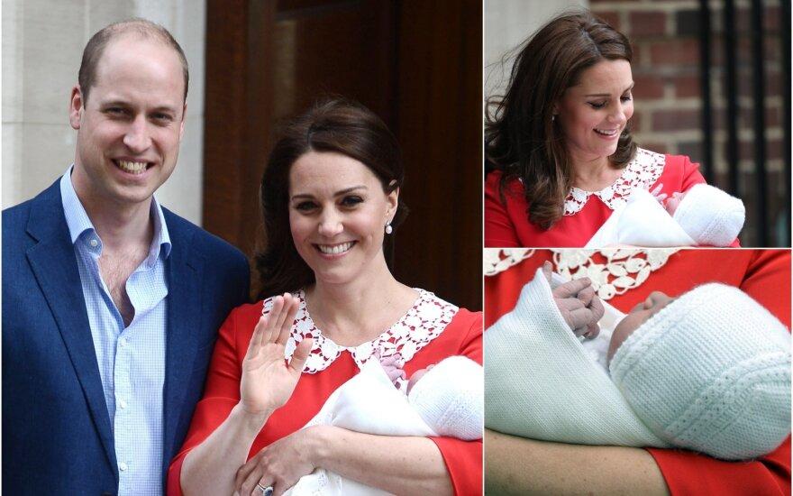 Kate Middleton su šeima