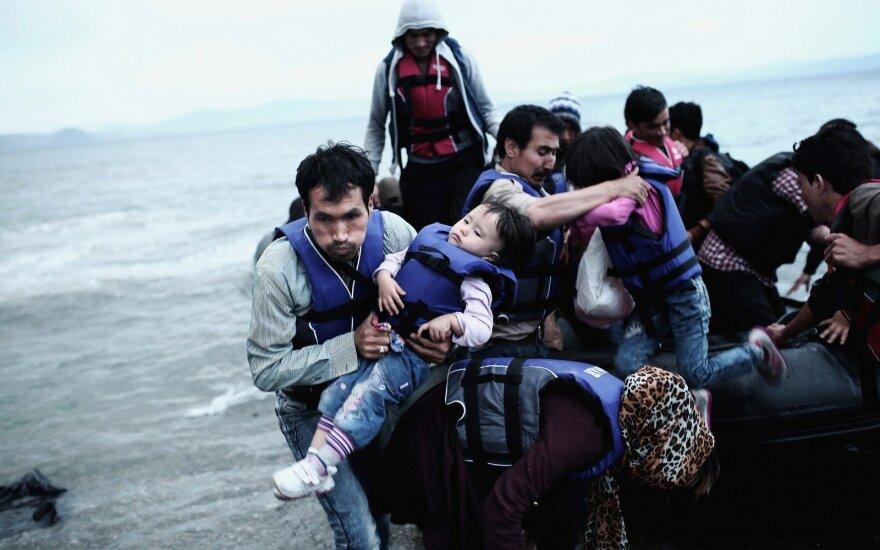 Pernai sumažėjo prieglobsčio Lietuvoje prašymų