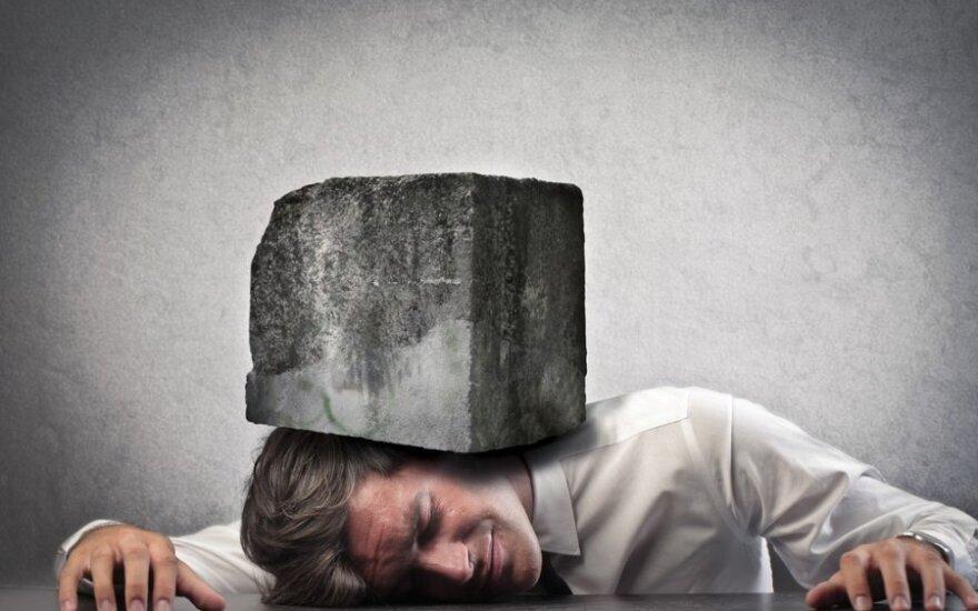 Stresas darbe - mirtinų ligų sukėlėjas