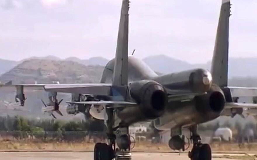 SOHR: nuo 2015 metų Rusijos karo lėktuvai pražudė daugiau kaip 8 tūkst. civilių Sirijoje