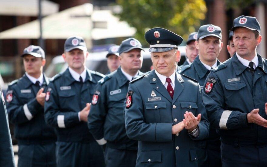 Lietuvoje minima Policijos diena