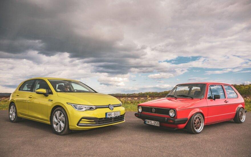 Volkswagen Golf / Kamilės Miliūtės nuotr.