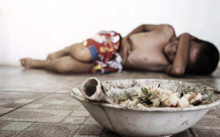 JT: pasaulyje didėja badaujančiųjų skaičius, žengėme dešimtmetį atgal