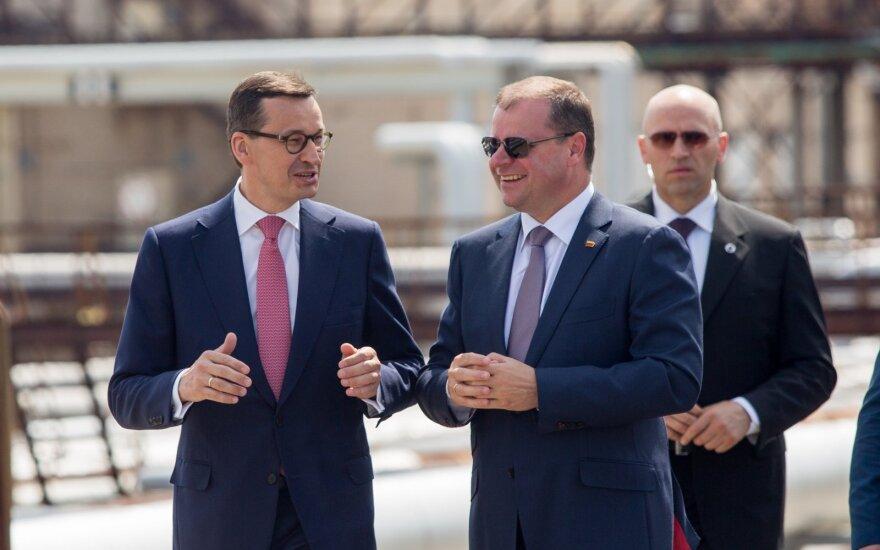 Skvernelis su Lenkijos premjeru aptars sienų atvėrimo perspektyvas