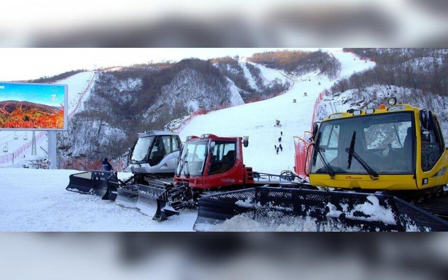 Egzotiškiausias pasaulyje slidinėjimo kurortas