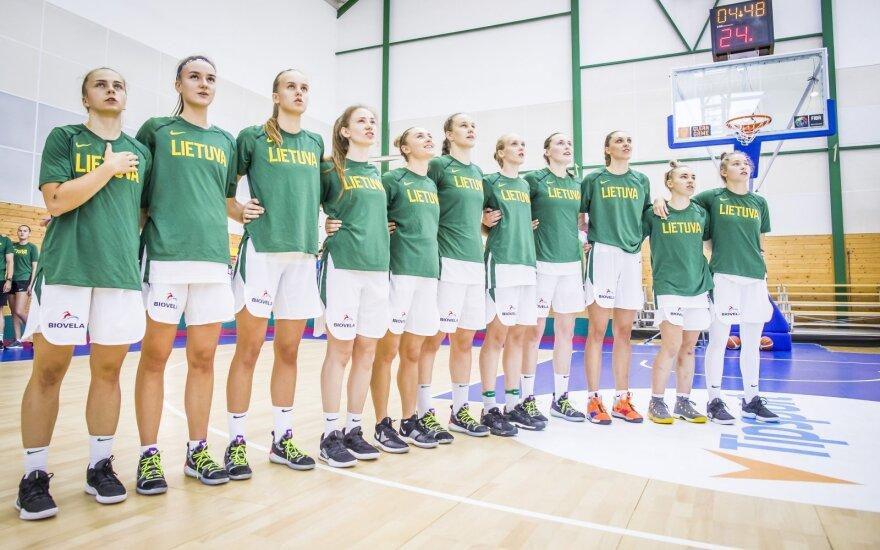 Lietuvos merginų (iki 20 metų) krepšinio rinktinė