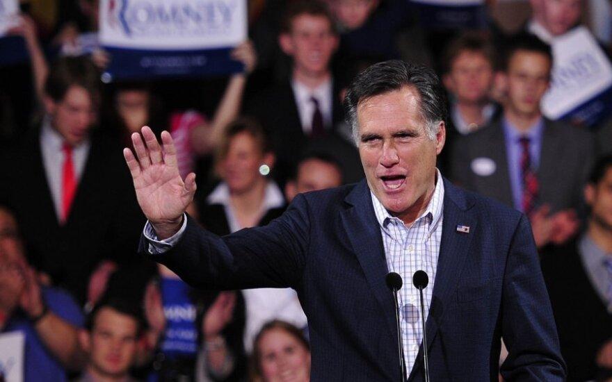 Apklausa: už M.Romney balsuotų 0 proc. JAV juodaodžių