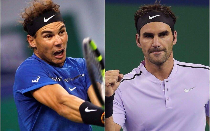 Rafaelis Nadalis ir Rogeris Federeris